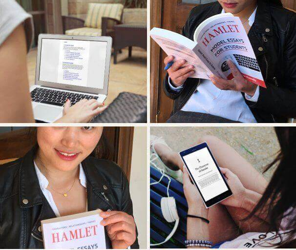 Hamlet: Model Essays for Students: Paperback and Kindle Ebook