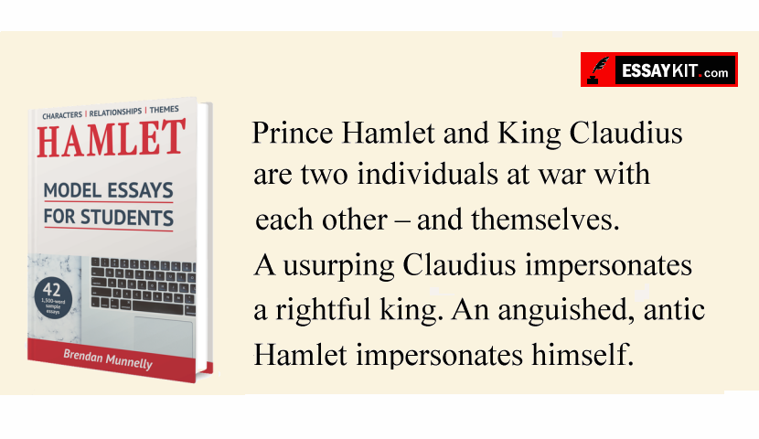 hamlet and claudius relationship essay From the opening act, you are presented with the cracks in the relationship between hamlet and king claudius, his uncle and stepfather only a short two months have passed by since the death of hamlet's father, king hamlet, and he is mourning the death.